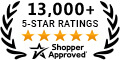 Shopper Approved - Over 10,000 Ratings
